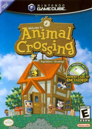 Cover for Animal Crossing.