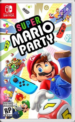 Cover for Super Mario Party.