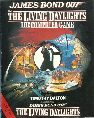 Cover for The Living Daylights.