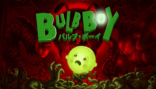 Cover for Bulb Boy.
