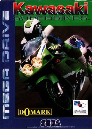 Cover for Kawasaki Superbike Challenge.