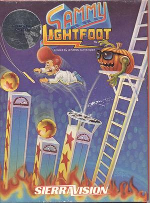 Cover for Sammy Lightfoot.