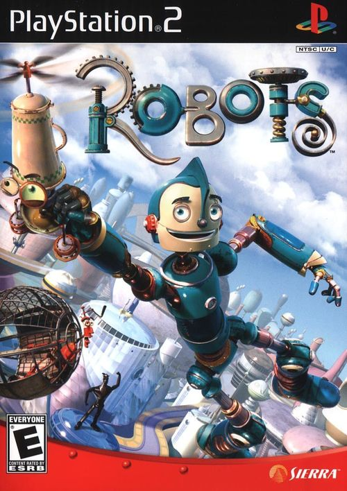 Cover for Robots.