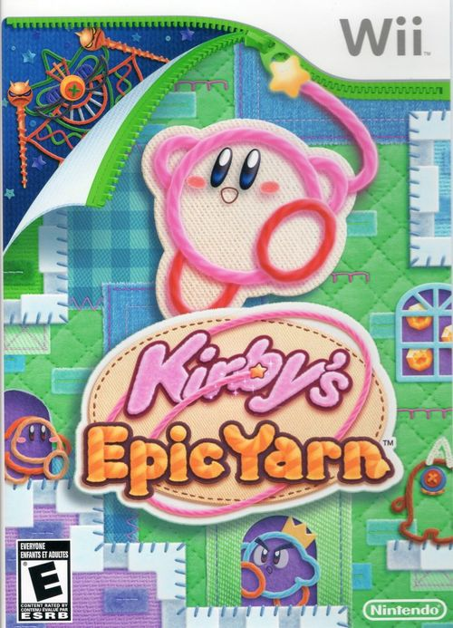Cover for Kirby's Epic Yarn.
