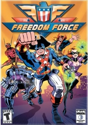 Cover for Freedom Force.