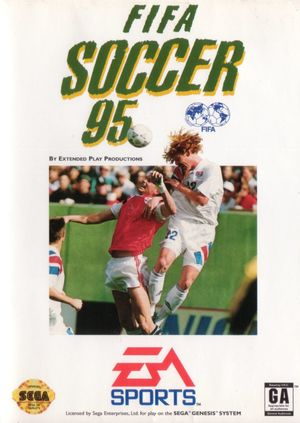 Cover for FIFA Soccer 95.