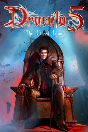 Cover for Dracula 5: The Blood Legacy.