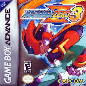 Cover for Mega Man Zero 3.
