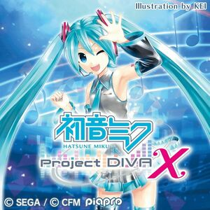 Cover for Hatsune Miku: Project DIVA X.