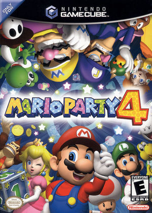 Cover for Mario Party 4.