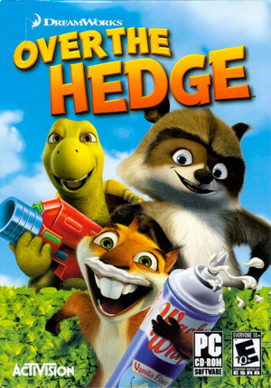 Cover for Over the Hedge.