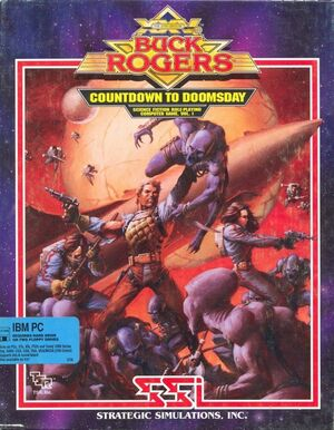 Cover for Buck Rogers: Countdown to Doomsday.