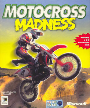 Cover for Motocross Madness.