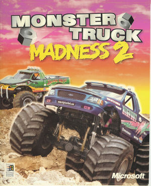 Cover for Monster Truck Madness 2.