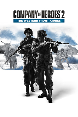 Cover for Company of Heroes 2: The Western Front Armies.
