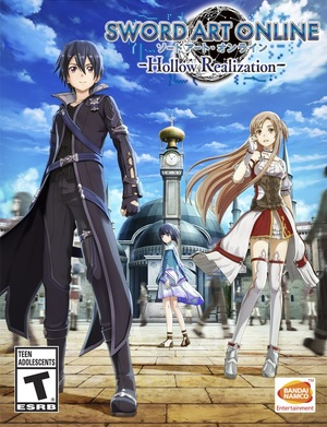 Cover for Sword Art Online: Hollow Realization.