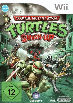 Cover for Teenage Mutant Ninja Turtles: Smash-Up.