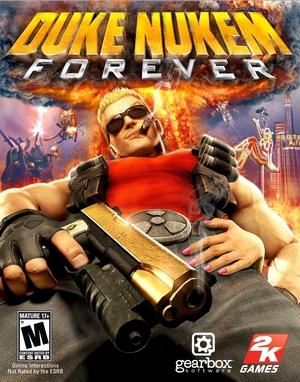 Cover for Duke Nukem Forever.