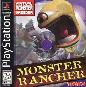 Cover for Monster Rancher.