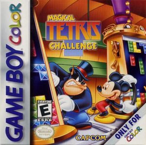 Cover for Magical Tetris Challenge.