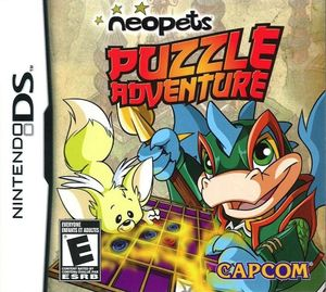 Cover for Neopets Puzzle Adventure.