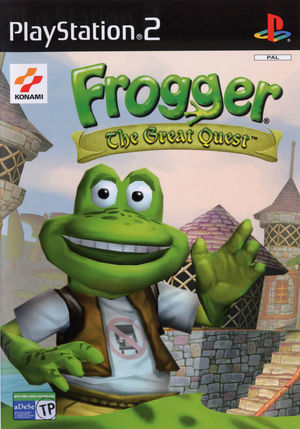 Cover for Frogger: The Great Quest.