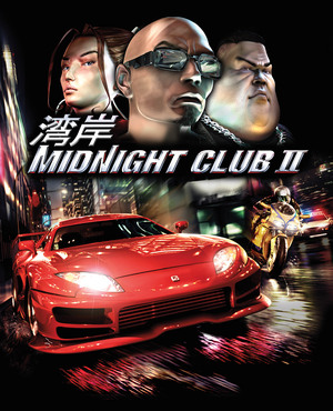 Cover for Midnight Club II.