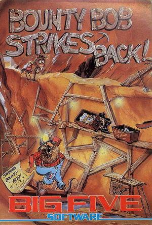 Cover for Bounty Bob Strikes Back!.