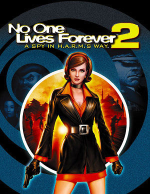 Cover for No One Lives Forever 2: A Spy in H.A.R.M.'s Way.