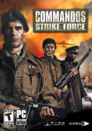 Cover for Commandos: Strike Force.