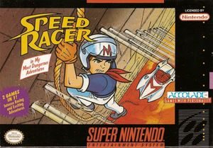 Cover for Speed Racer in My Most Dangerous Adventures.