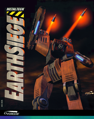 Cover for Metaltech: Earthsiege.