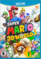 Cover for Super Mario 3D World.