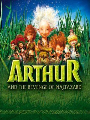 Cover for Arthur and the Revenge of Maltazard.