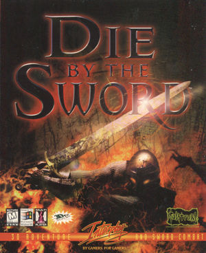 Cover for Die by the Sword.