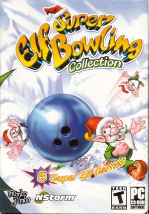 Cover for Super Elf Bowling.