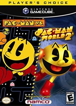 Cover for Pac-Man Vs. / Pac-Man World 2.