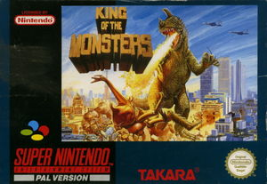 Cover for King of the Monsters.