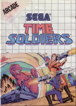 Cover for Time Soldiers.