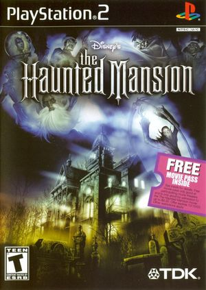 Cover for The Haunted Mansion.