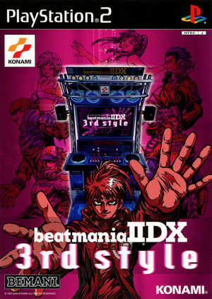 Cover for Beatmania IIDX 3rd Style.