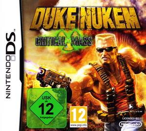 Cover for Duke Nukem: Critical Mass.