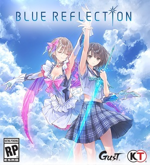 Cover for Blue Reflection.