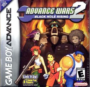 Cover for Advance Wars 2: Black Hole Rising.