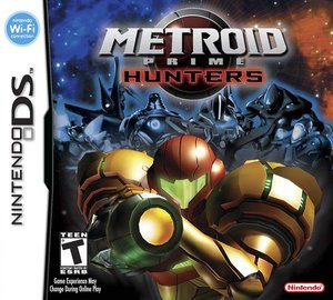 Cover for Metroid Prime Hunters.