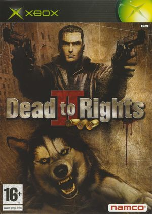 Cover for Dead to Rights II.