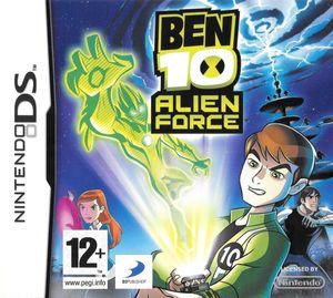 Cover for Ben 10: Alien Force.