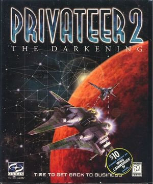 Cover for Privateer 2: The Darkening.
