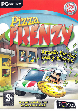 Cover for Pizza Frenzy.