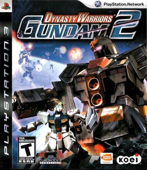 Cover for Dynasty Warriors: Gundam 2.